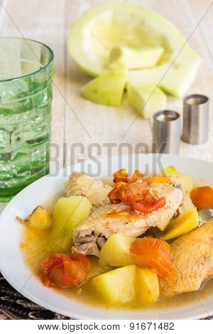 Chicken Papaya