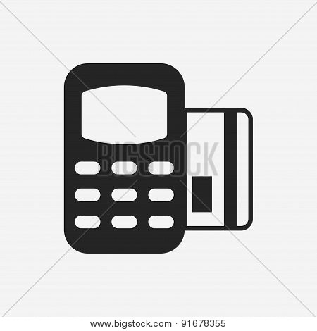 Credit Card Machine Icon