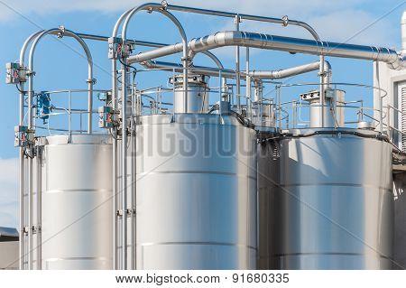Chemical Plant, Silos