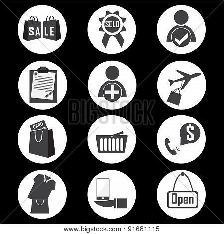 Shopping Icon Vector Illustration