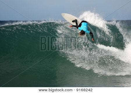 Surfing Manoeuvre