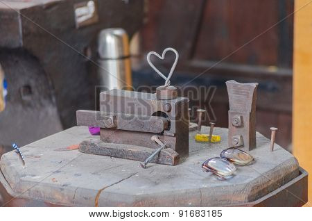 Locksmith's Workshop, Smithy