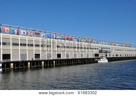 Seaport World Trade Center in Boston