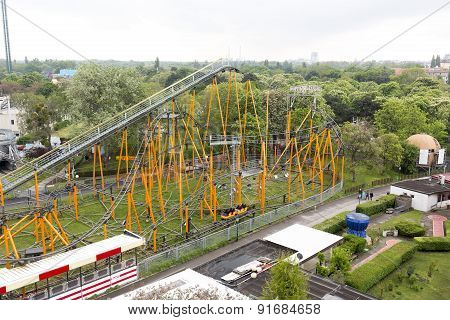 Aerial View Of The Prater