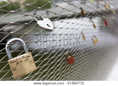 Love Padlocks Locks