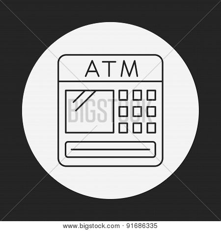 Atm Line Icon
