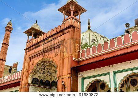 Jama Masjid Mosque Of Old Delhi, India