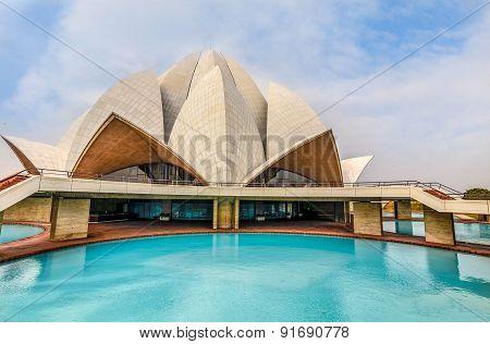 The Lotus Temple, New Delhi, India