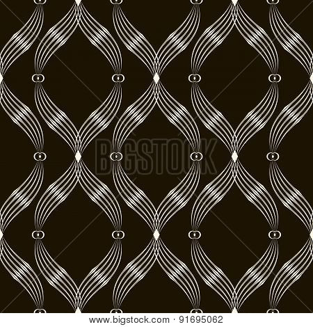 2d Seamless Pattern. Abstract Background With Geometric Ornamnet