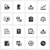 picture of enterprise  - Business and enterprise vector icons - JPG