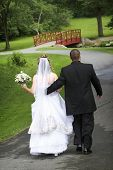 Bride And Groom - Wedding Couple In Love Series poster