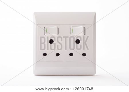 A double wall plug for a three point plug used in South Africa.