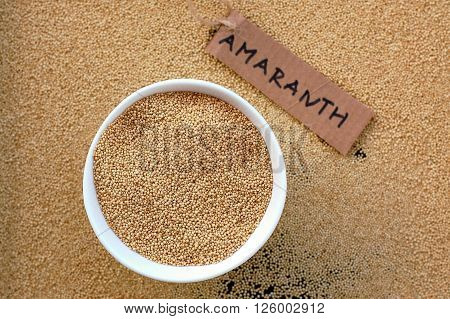 Amaranth In The Bowl