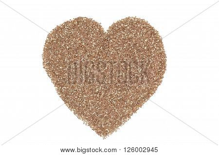 Heart Of Chia Seeds