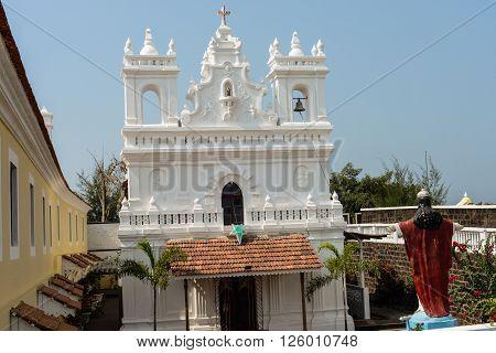 Catholic Church In Goa, India