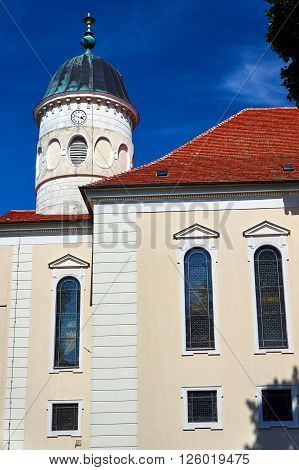 Classicist Lutheran Church in Sycowo in Poland