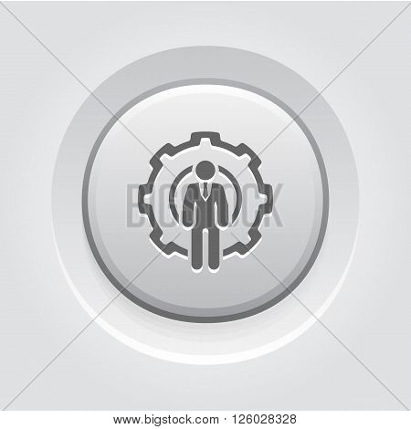 Global Support Icon. Business Concept. Icons Set.