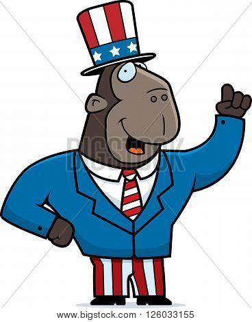 Patriotic Ape
