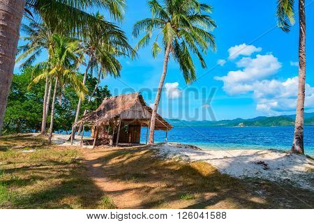 Tropical island landscape, El, Nido, Palawan, Philippines, Southeast Asia