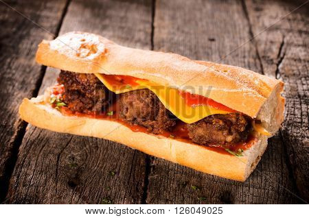 Single Meat Sandwich
