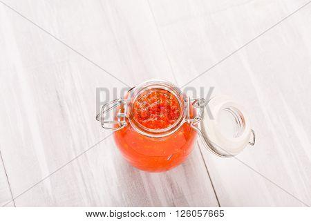 Natural Diy Habanero Garlic Sauce