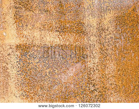 Texture of rusty metal. Brown rusty Background