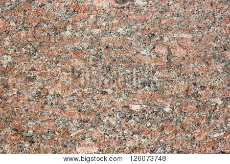 Monolith surface from the pink natural processed granite