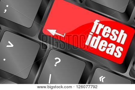Fresh Ideas Button On Computer Keyboard Key