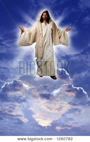 Jesus On A Cloud