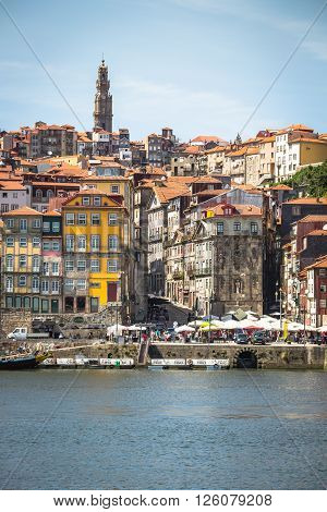 Porto Portugal -21 May 2015:The historic centre of Porto was declared a World Heritage Site by UNESCO in 1996