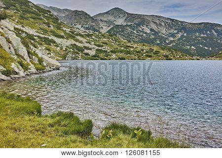 Clean waters of Popovo Lake, Pirin mountain, Bulgaria