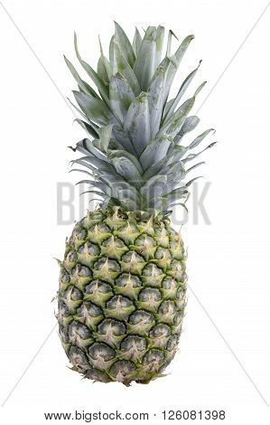 Fresh ananas isolated over a white background