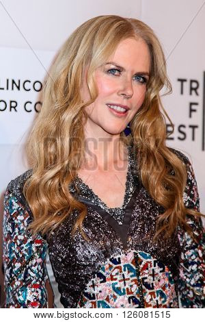 NEW YORK, NY - APRIL 16: Actress Nicole Kidman  attend 'The Family Fang' Premiere - 2016 Tribeca Film Festival at John Zuccotti Theater  on April 16, 2016 in New York City