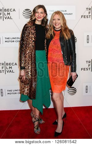 NEW YORK, NY - APRIL 16: Film producer Daniela Taplin Lundberg with guest  attend 'The Family Fang' Premiere - 2016 Tribeca Film Festival on April 16, 2016 in New York City