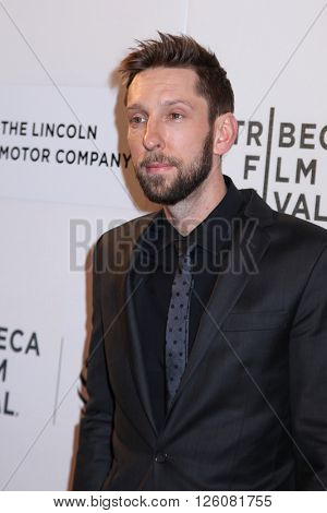 NEW YORK, NY - APRIL 16:  Joel David Moore attend 'Youth In Oregon' Premiere - 2016 Tribeca Film Festival at John Zuccotti Theater at Tribeca Performing Arts Center on April 16, 2016 in New York City