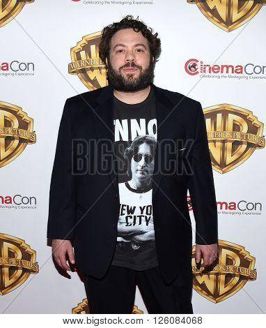 LOS ANGELES - APR 12:  Dan Fogler arrives to the CinemaCon 2016: Warner Bros.