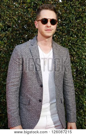 Josh Dallas at the John Varvatos 13th Annual Stuart House Benefit held at the John Varvatos in West Hollywood, USA on April 17, 2016.