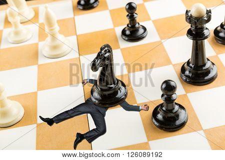 Businessman defeated