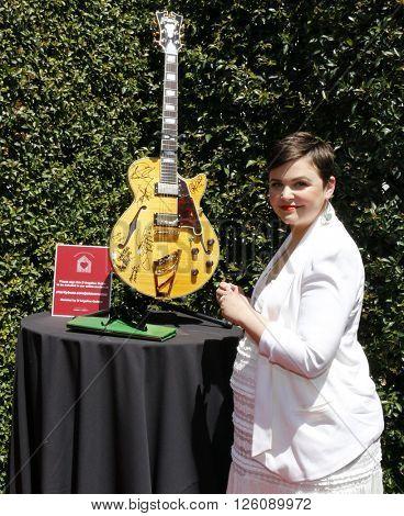 Ginnifer Goodwin at the John Varvatos 13th Annual Stuart House Benefit held at the John Varvatos in West Hollywood, USA on April 17, 2016.