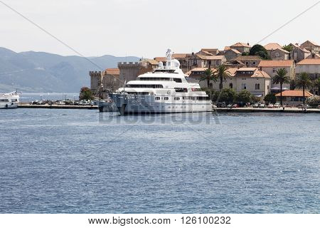 Yacht In Mediterranean