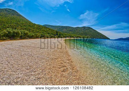 Empty Exotic Beach