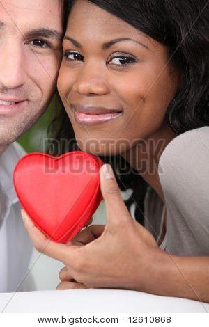 Retrato de una pareja enamorada