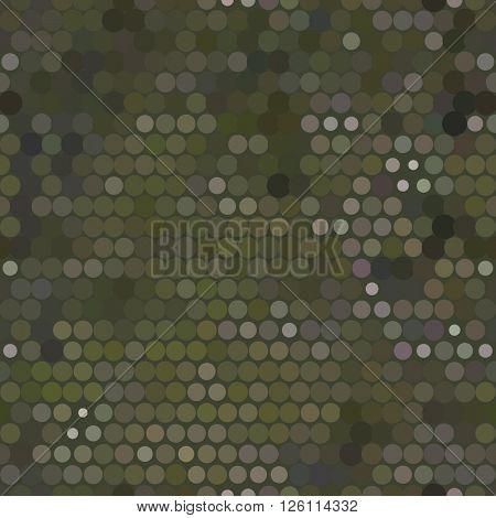 Seamless military dot background