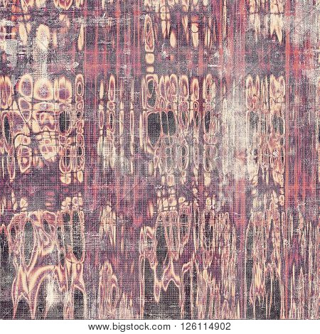 Cute colorful grunge texture or tinted vintage background. With different color patterns: yellow (beige); gray; red (orange); purple (violet); pink; black