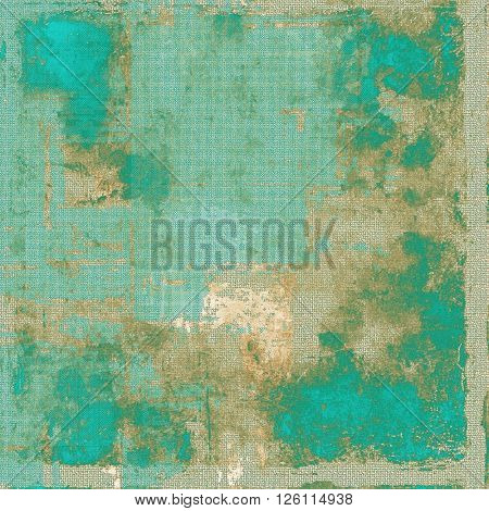 Cute colorful grunge texture or tinted vintage background. With different color patterns: yellow (beige); brown; gray; green; blue; cyan