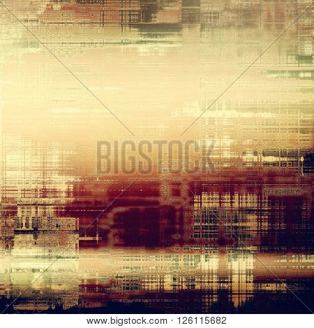 Colorful grunge background, tinted vintage style texture. With different color patterns: yellow (beige); brown; gray; red (orange); green; purple (violet)
