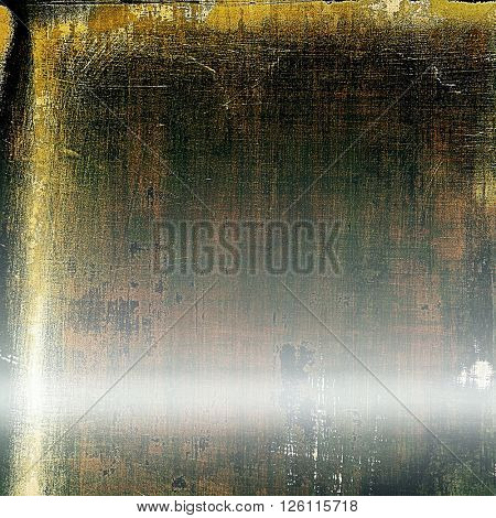 Abstract grunge weathered background of vintage texture. With different color patterns: yellow (beige); brown; gray; green; white