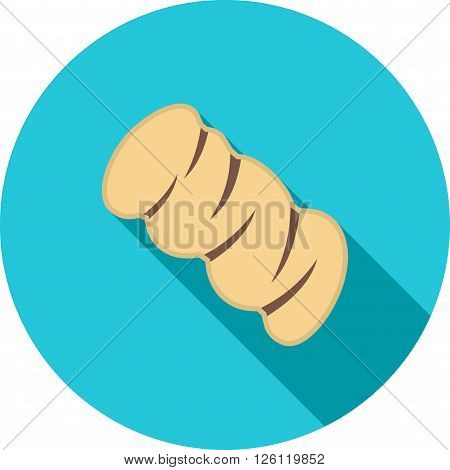 Braided, bread, bake icon vector image. Can also be used for bakery. Suitable for use on web apps, mobile apps and print media.