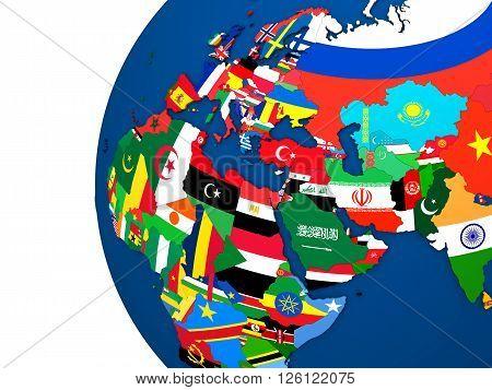 Political Emea Map