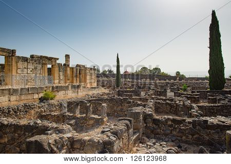 The Ruins  In The Small Town Capernaum